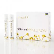 "Hialuronas geriamas ""FenoQ Micro Hyaluron"", 14 buteliukų po 25 ml"