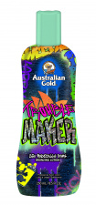 AUSTRALIAN GOLD kremas deginimuisi soliariume Trouble Maker™ 25X Radically Dark Bronzing Lotion, 250 ml