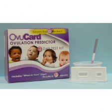 """Ovuliacijos testas (kasetė) """"OvuCard"""" (7 testai) N7, 1 pakuotė"""