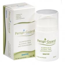 PERSPI-GUARD kreminis jautrios odos antiperspirantas nuo prakaito PERSPI-SENSITIVE (be aliuminio ir alkoholio), 50 ml