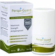 PERSPI-GUARD rutulinis antiperspirantas su alavijais ROLL ON (veiksmingas iki 5 d.), 30 ml