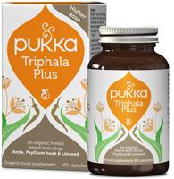 """PUKKA Ekologiškos kapsulės """"Triphala Plus"""", 60 kaps."""