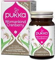 """PUKKA Ekologiškos kapsulės PUKKA """"Womankind Cranberry"""", 30 kaps."""