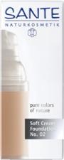 SANTE Švelnus kreminis makiažo pagrindas Soft Crem Foundation, 30 ml