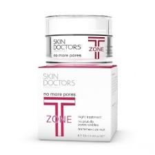 SKIN DOCTORS kremas reguliuojantis riebalų išsiskyrimą ir mažintis jų perteklių T-ZONE NO MORE PORES, 30 ML
