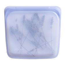Stasher daugkartinio naudojimo silikoninis sumuštinių maišelis Ametistas, 1 vnt