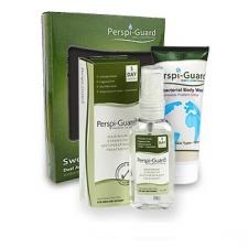 Rinkinys nuo prakaitavimo SWEAT DEFENCE SYSTEM (antiperspirantas PERSPI-GUARD + antibakterinis prausiklis PERSPI-BODY WASH), 30 ir 200 ML