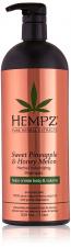 HEMPZ Apimties suteikiantis šampūnas SWEET PINEAPPLE & HONEY MELON, 1000 ML