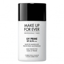 MAKE UP FOR EVER bazė prieš makiažą SPF 30 UV PRIME SPF 30/PA +++ Daily Protective Make Up Prime Color Correction , 30 ml