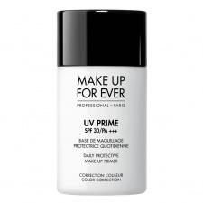 MAKE UP FOR EVER bazė prieš makiažą SPF 30 UV PRIME SPF 30/PA +++ Daily Protective Make Up Prime Color Correction , 30 ml