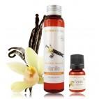 Vanilės ištrauka (fitolis) sezamų aliejuje EKO, 10 ml