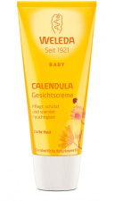 WELEDA veido kremas su medetkomis Calendula Facial Care for Children, 50 ml