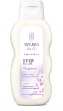 WELEDA Kūno pienelis su svilarožėmis White Mallow Body Lotion, 200 ml