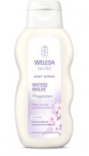 WELEDA Kūno pienelis su svilarožėmis White Mallow Body Lotion, 200 ml