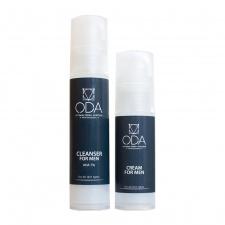 ODA rinkinys vyrams (prausiklis 7% +drėkinamasis kremas) SET FOR MEN (cleanser + cream)