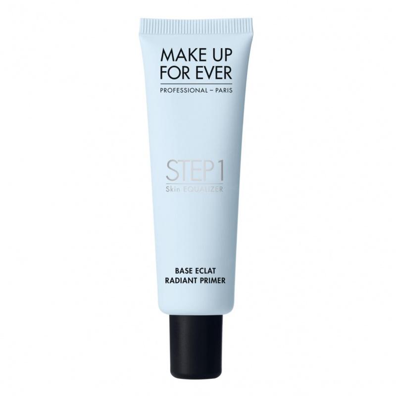 MAKE UP FOR EVER odos spalvą koreguojantis makiažo pagrindas (melsvas), STEP1 SKIN EQUALIZER RADIANT PRIMER, 30 ml
