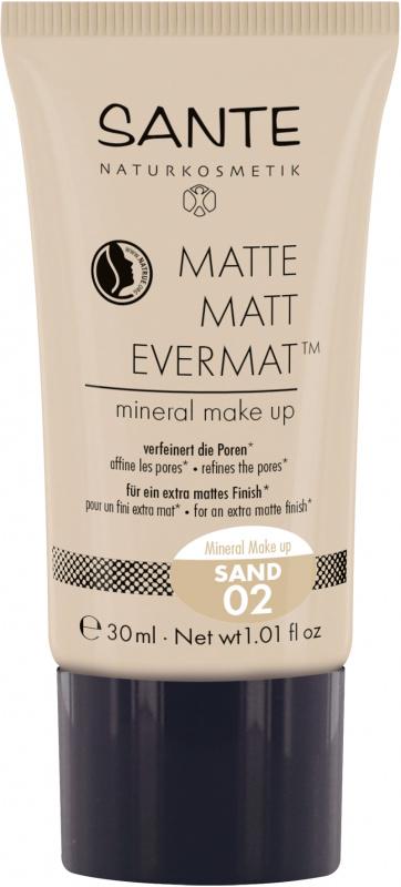 SANTE Matinis makiažo pagrindas Matte Matt EvermatTM  Mineral Make up, 30 g