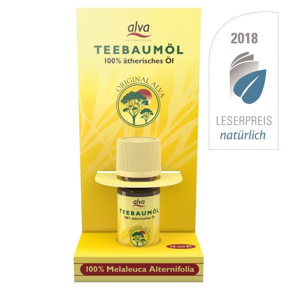 Arbatmedžio eterinis aliejus Alva, 10 ml