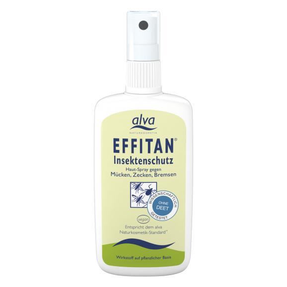 ALVA vabzdžius atbaidanti priemonė Effitan Insektenschutz-Spray (uodai, erkės, sparvos), 100 ml