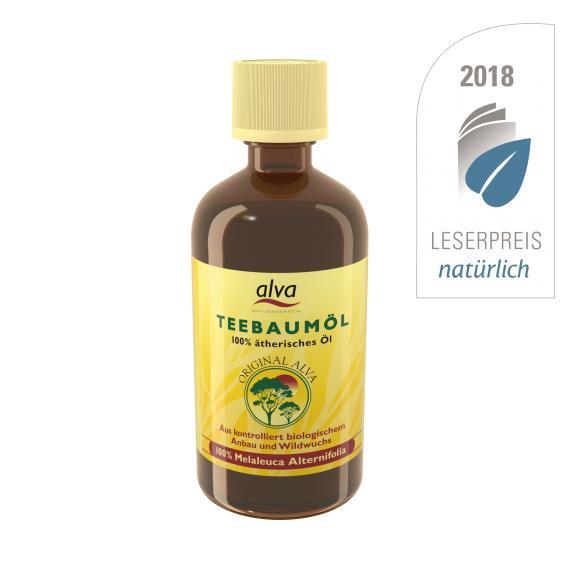 Arbatmedžio eterinis aliejus Alva, 100 ml