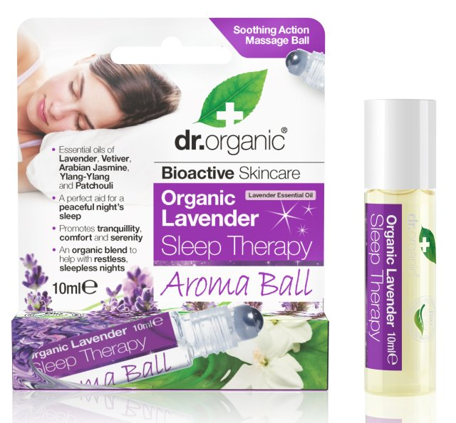 Dr.Organic Aromaterapinis rutuliukas Lavender Sleep Therapy, 10 ml