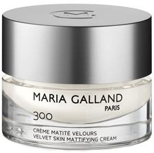 MARIA GALLAND 300 skaistinantis, matinio efekto dieninis ir naktinis kremas riebiai-mišriai veido odai, 50 ml