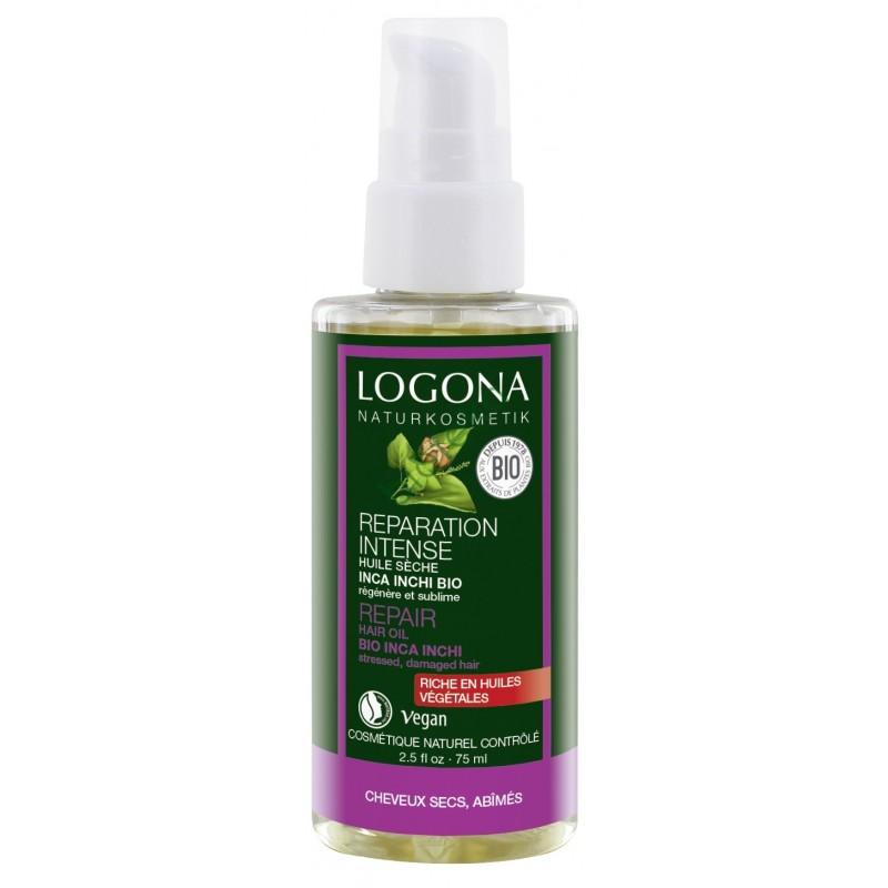 Logona Atstatomasis aliejus plaukams su plukenetijų aliejumi Hair Repair Oil, 75 ml