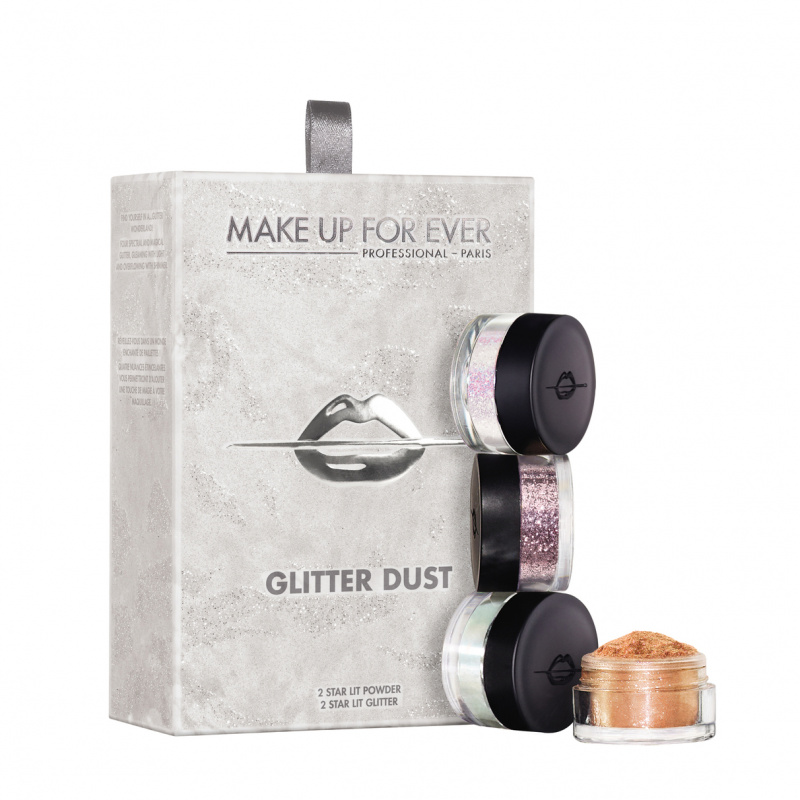 MAKE UP FOR EVER rinkinys GLITTER DUST KIT, 1 vnt