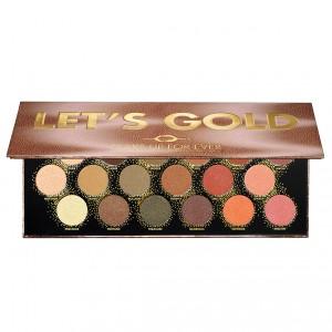MAKE UP FOR EVER 18 šešėlių paletė Let's Gold Limited, 16,2 g