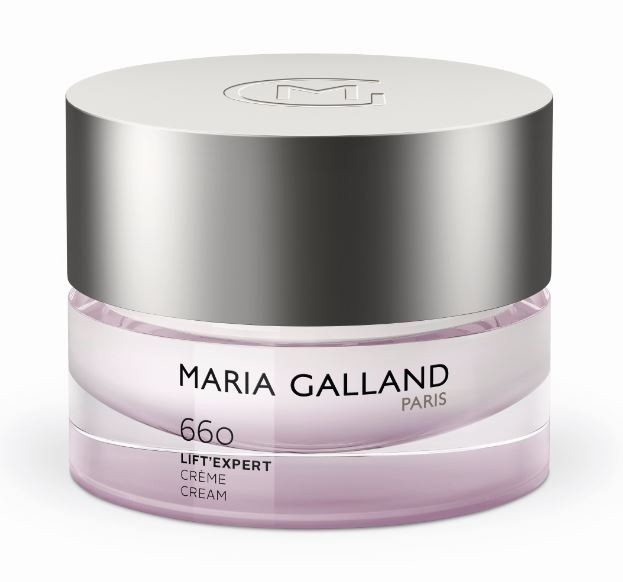MARIA GALLAND 660 kremas su peptidais ir senėjimą stabdančiu kompleksu Lift'éxpert, 15 ml ir  50 ml