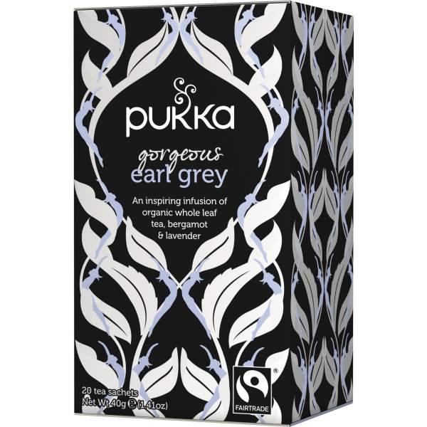 Ekologiška arbata PUKKA Gorgeous Earl Grey, 20 pak.