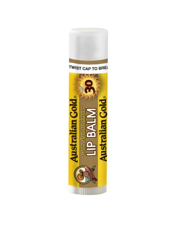 Australian Gold apsauginis lūpų balzamas SPF 30, 4.2 g