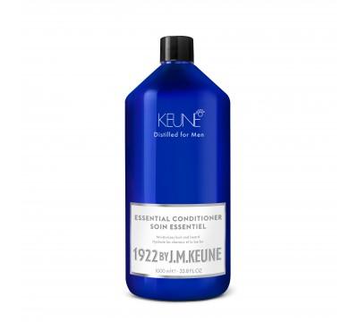 KEUNE švelnus kasdienio naudojimo plaukų kondicionierius 1922 by J. M. ESSENTIAL, 250 ml ir 1000 ml
