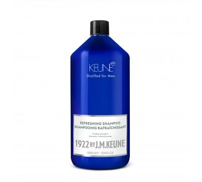 KEUNE plaukus gaivinantis šampūnas vyrams 1922 by J. M. KEUNE REFRESHING, 250 ml ir 1000 ml