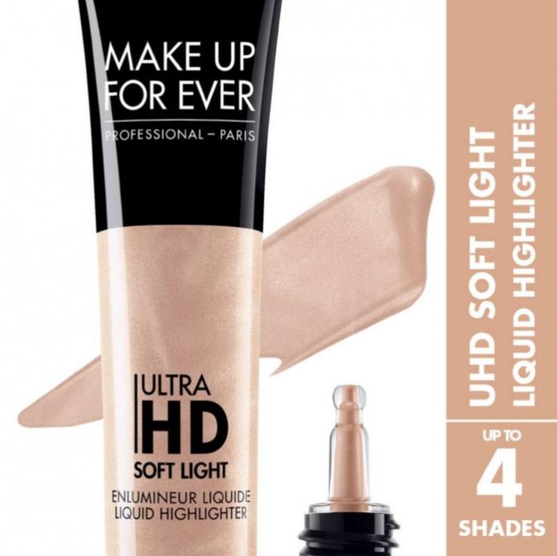 MAKE UP FOR EVER švytėjimo suteikianti kreminė pudra ULTRA HD SOFT LIGHT, 12 ml