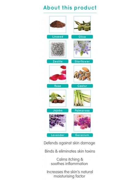 SALCURA atstatomasis kremas probleminei veido ir viso kūno odai Bioskin Zeoderm, 50 ml